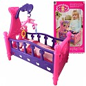 Doll cradle Doll bed with bed linen and mobile without doll
