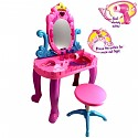Dressing table dressing table pink / purple for little princesses