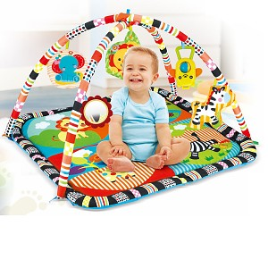 Colorful baby play arch