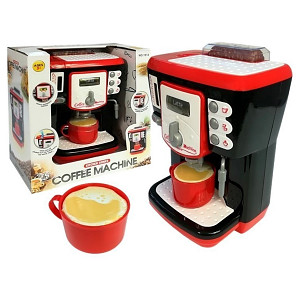 Espresso machine for children with light, sound and real water flow