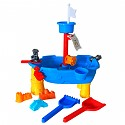 Bathtub toy pirate ship sand and water table