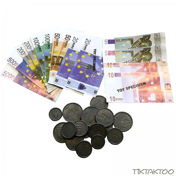Spielgeld Euro Münzen Und Scheine 30 Teile Euroscheine Rechengeld
