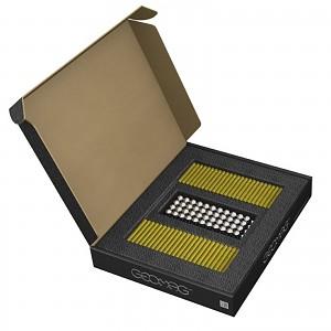 GEOMAG Masterbox GELB 248 Teile Magnetbaukasten Magnetspielzeug Konstruktion Bulkb