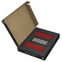 GEOMAG Masterbox ROT 248 Teile Magnetbaukasten Magnetspielzeug Konstruktion Bulkb