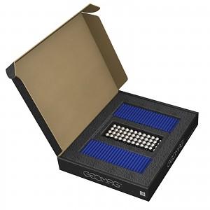 GEOMAG Masterbox BLAU 248 Teile Magnetbaukasten Magnetspielzeug Konstruktion Bulkb