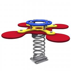 FENOKEE spring-bouncer for 4 kids