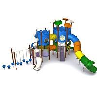 BEN - MODUS Mega Spielturm mit Tunnelrutsche - EN1176