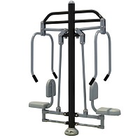 PLUS Fitness Element Plus - Chest press black