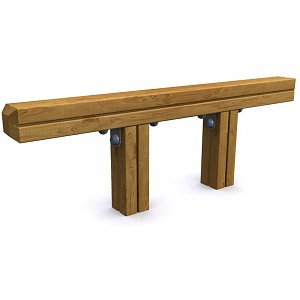 SPORT circuit jump element / balance beam for public playgrounds or fitness trails