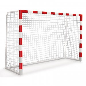2 small fixed goals football handball goal for public playgrounds or areas