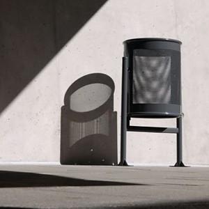 Abfallbehälter Circular Gross 70 L im eleganten modernen Design
