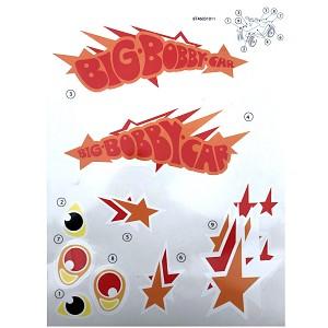 BIG - Bobby-Car Classic Stickers Limited special model 2017 sticker sticker set sticker
