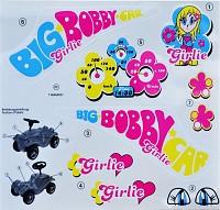 BIG-Bobby-Car-Classic Stickers Classic Girlie