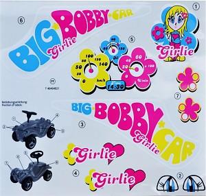 Big-Bobby-Car-Classic Girlie sticker