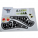 BIG - Bobby Car Sticker Racer Sticker Sticker Set Bobbycar Classic Racing MTM