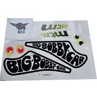 BIG Bobby Car Aufkleber Racer Sticker Aufklebersatz Bobbycar Classic Racing MTM