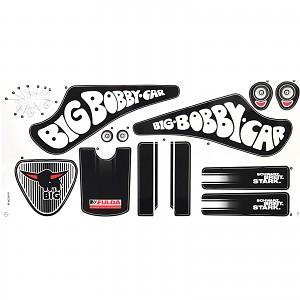 BIG - Classic Fulda Bobby Car sticker sticker sticker set Bobbycar 2017