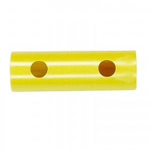 Gelbe Christbaumkugeln.Moveandstic Tube 15 Cm Yellow Tiktaktoo