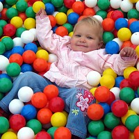 high quality therapy - and play balls by EURO-MATIC balls 500 pieces 60mm