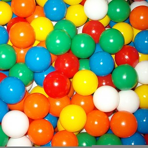 high quality therapy and play balls from EURO-MATIC balls 250 pieces 60mm