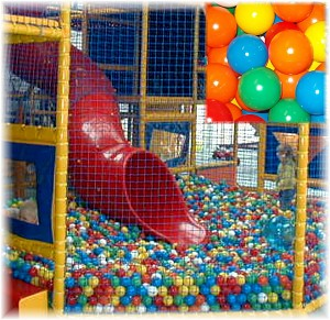 EURO-MATIC Playpen Balls 500 Pit Balls 75mm