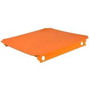 Moveandstic plate 40x40 cm, orange