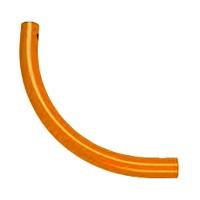 Moveandstic curved tube, orange