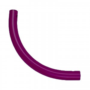 Moveandstic curved tube, magenta