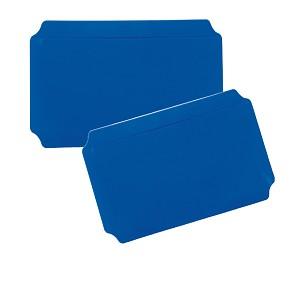 Moveandstic set of 2, plate 20 x 40 cm, blue