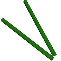 Moveandstic set of 2 tubes of 75, green