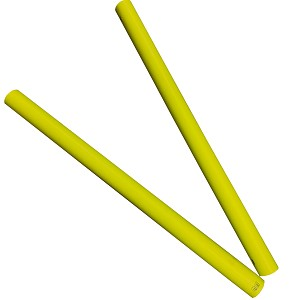 Moveandstic set of 2 tube 75 cm, yellow