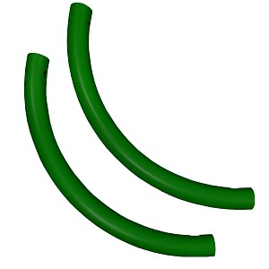 Moveandstic set of 2 pipe bends green