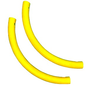Moveandstic set of 2 pipe bends yellow