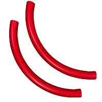 Moveandstic set of 2 pipe bends red