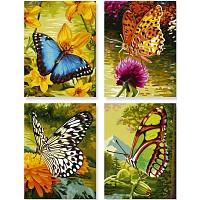 Malen nach Zahlen Schmetterlinge Quattro von Schipper 609340628