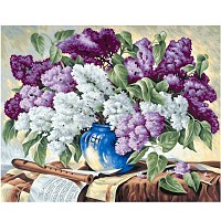 Painting By Numbers - Lilacs 40x50
