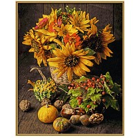 Paint by number 609130734 Still life in autumnal colors 40x50