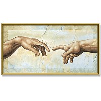 Painting By Numbers - The Creation of Adam 40x80