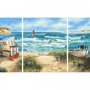 Malen nach Zahlen - SCHIPPER - Sommerfrische Triptychon