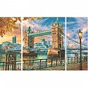 The Tower Bridge in London Schipper 609260752 Paint by numbers Triptychon