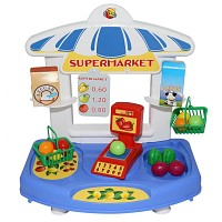 Grocery store grocery store supermarket toy kiosk corner shop children