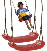 Swing Set of 2, red