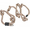 Climbing rope with 7 knots, 4 m long, Ø 26 mm
