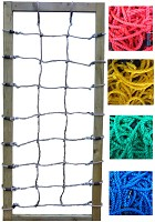 Climbing net H: 2.00 x W: 0.75 m, red, green or black