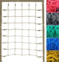 Climbing net H: 2.00 x W: 1.50 m, red, blue, black or green