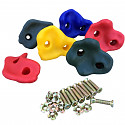 Climbing stones for climbing wall set of 6
