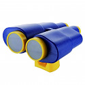 Binoculars telescope blue / yellow
