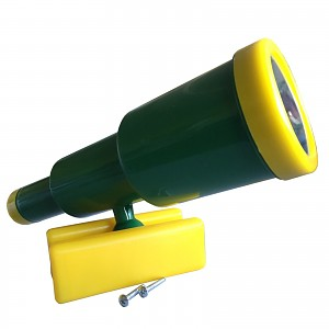 Teleskop-Fernrohr standard grün / gelb