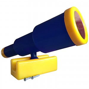 Telescopic telescope large blue / yellow