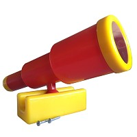 Telescopic telescope large red / yellow
